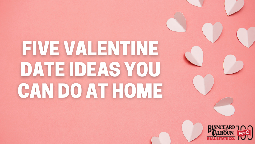 Five Valentine Date Ideas You Can Do at Home